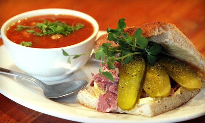 The Hot and Cold Cafe - Fairfield: C$15 for a Café Meal for Two with Soups and Sandwiches or Salads at The Hot and Cold Cafe (Up to C$32 value)