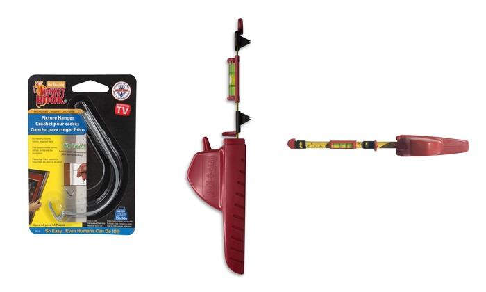 Hang O Matic Wall Hanging Tool Groupon Goods
