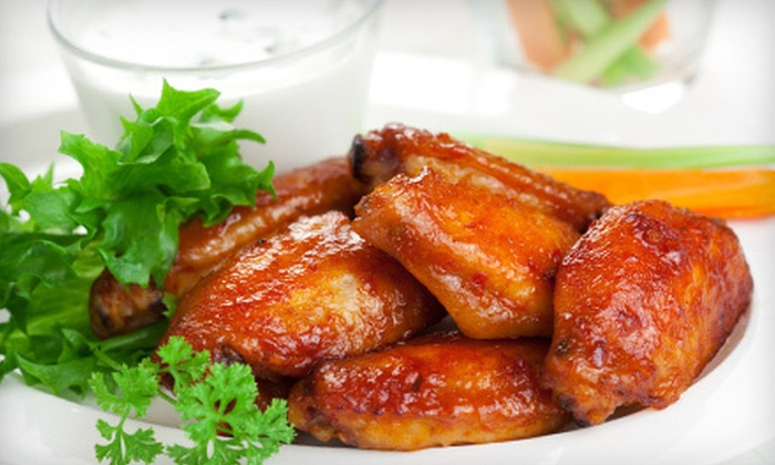 Wild Wild Wingz - Barwal: $10 Worth of Wings, Ribs, and Seafood