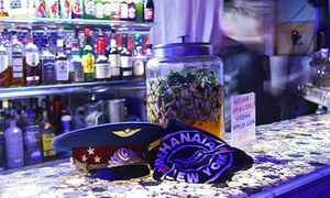 Mehanata Bulgarian Bar: Ice Cage Vodka-Room Experience for Two or Four at Mehanata Bulgarian Bar (53% Off)