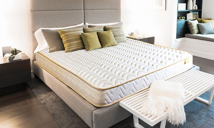 matelas golden m moire de forme sampur groupon. Black Bedroom Furniture Sets. Home Design Ideas
