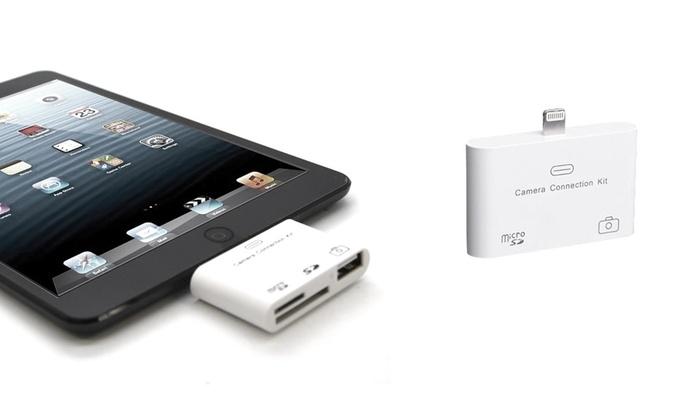 Aduro iPad Camera Connector: Aduro Lightning Camera Connection Kit for iPad. Free Returns.