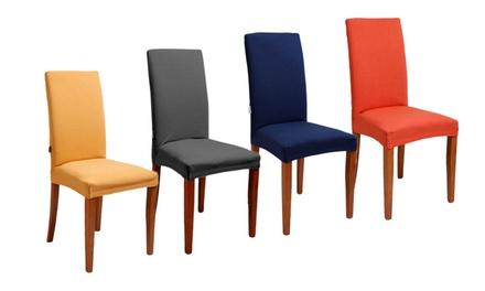 09e5ec4969 Una o 2 coppie di coprisedie disponibili in 3 colori da 13,90 ...