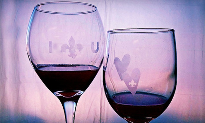 Create Studios - Highlands/Perkins: $17 for a BYOB Wine-Glass Etching Class at Create Studios ($35 Value)