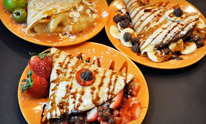 Caramel Crêpe - Winnipeg: Crepes for Two or Four at Caramel Crêpe (Half Off)