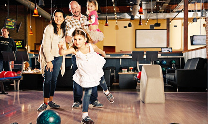 Gametime - Rosewood: Bowling for Up to Six; Football, Bowling, and Prime-Rib Buffet for Two; or $10 for $20 Worth of Food at Gametime