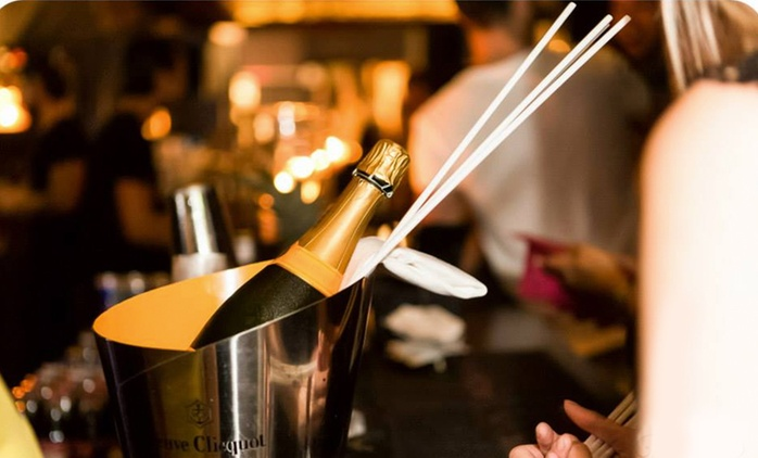 Bottle of Veuve Clicquot and Sharing Platter for Two at JuJu (58% Off)
