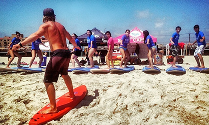 Skudin Surf - Rockaway Beach: Group Surfing Lesson or Half-Day Surfing Camp with Equipment Rental at Skudin Surf (Up to 53% Off)
