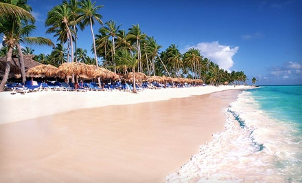 Seven-Day Punta Cana Vacation with Round-Trip Airfare from Vacation Express from Dominican Republic Vacation with Round-Trip Airfare - Punta Cana