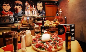 Fratelli La Bufala Torino (Corso Trapani): Antipasto, pizza e birra da Fratelli La Bufala, vicino Piazza Rivoli(sconto 66%)