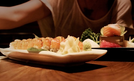 Contemporary Japanese Cuisine or Whiskey at Nihon Whisky Lounge (Up to 43% Off)