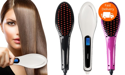 $29 for a New 2016 Model Todo Anti-Static Hair Straightening Brush (Don't Pay $249)