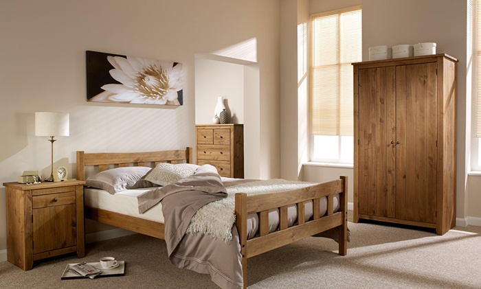 Handcrafted Bedroom Furniture Groupon Goods