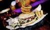 Around The World - Leeds - Leeds: Burger, Pizza or Salad with a Drink for Up to Four at Around The World Bar (Up to 60% Off)