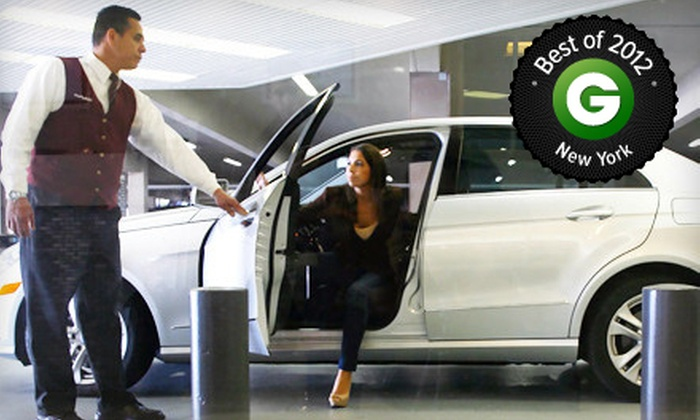 WallyPark Airport Parking - Newark: $9 for One Day of Valet Uncovered Airport Parking at WallyPark Airport Parking ($19.95 Value)