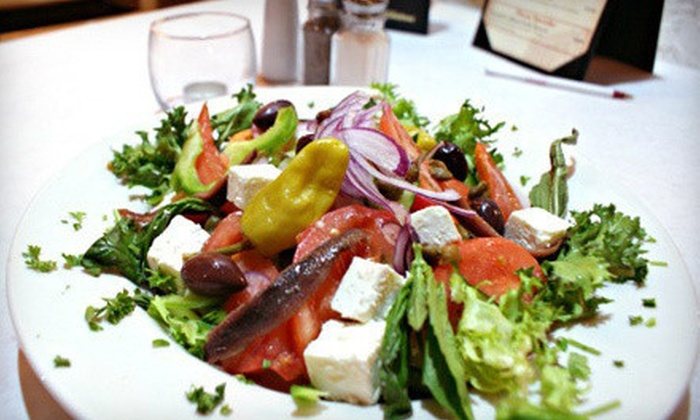 Greek Village Taverna - Schaumburg: $10 for $20 Worth of Seafood, Traditional Greek Fare, and Brews During Dinner at Greek Village Taverna in Schaumburg