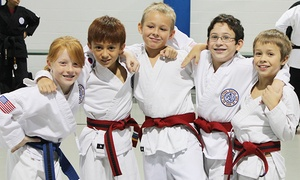 Midtown Martial Arts: One Month of Tae Kwon Do Classes for One or Two at Midtown Martial Arts (Up to 54% Off)