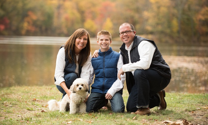 The Photo Solution - Allentown / Reading: $59 for a Family Photo Shoot Session from The Photo Solution ($150 value)
