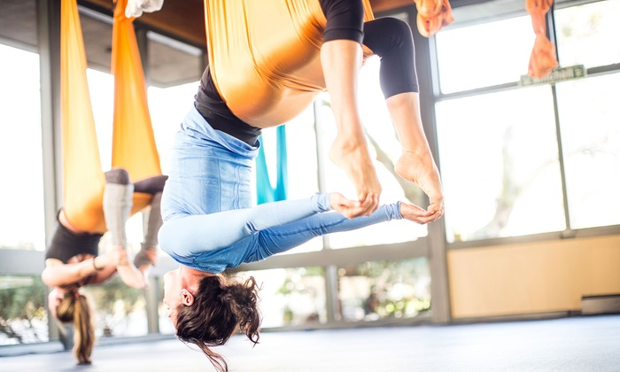 Vibe Fitness - Vibe Fitness: 5 or 10 Aerial Yoga Classes at Vibe Fitness (Up to 52% Off)