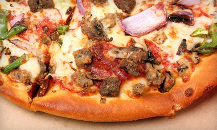 Xena Pizza - North Richland Hills: $15 for $30 Worth of Pizza, Wings, and Salad at Xena Pizza