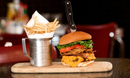 American Dinner at Stanley's Kitchen & Tap (50% Off). Two Options Available.