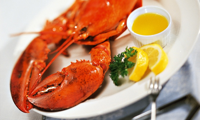 Lobster Express - Hull: Take-Home Lobster Bake for Two or Four from Lobster Express (43% Off)