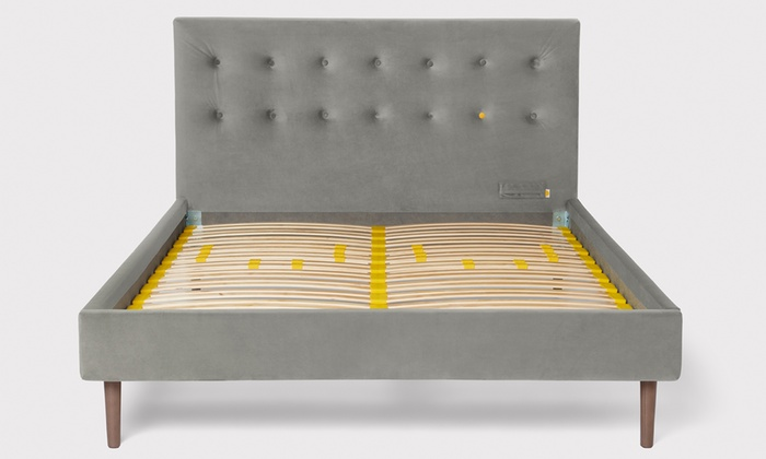 The Eve Button Back Bed