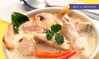 GROUPON: 45% Off Thai Cuisine and Sushi at Sala Thai Sala Thai U Street - Parent Account