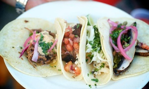Barrio Tequileria: Mexican Food at Barrio Tequileria (Up to 47% Off). Two Options Available.