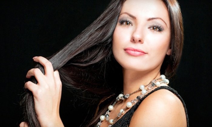 Brazil In Drops Salon & Spa - Lazy Bend: One or Two Organic Brazilian Keratin Treatments at Brazil In Drops Salon & Spa (Up to 67% Off)