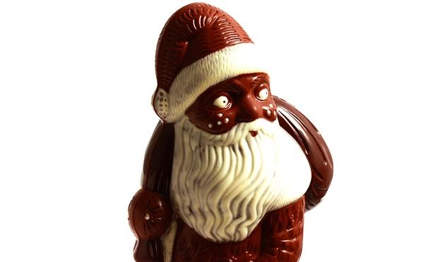 150 g MSV Duisburg Schokoladen Weihnachtsmann Plus Fu/ßball Schokoladenmischung 150g Schoko Nikolaus