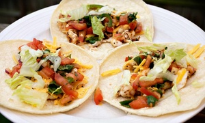 Mexican Meals For Two Or Take-out At Taco Haven (up To 56% Off)