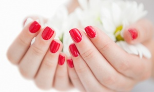 Gilmore's Nail Salon: One or Two Spa Mani-Pedis at Gilmore's Nail Salon (Up to 51% Off)