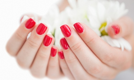 One or Two Spa Mani-Pedis at Gilmore's Nail Salon (Up to 51% Off)
