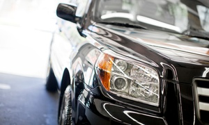 GreenGo Dry Steam Detailing: $25 for Headlight Restoration at GreenGo Dry Steam Detailing ($65 Value)