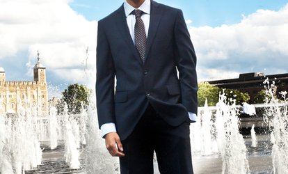 image for Two-Piece Made-to-Measeure Suit from Orhan London Tailoring (67% Off)