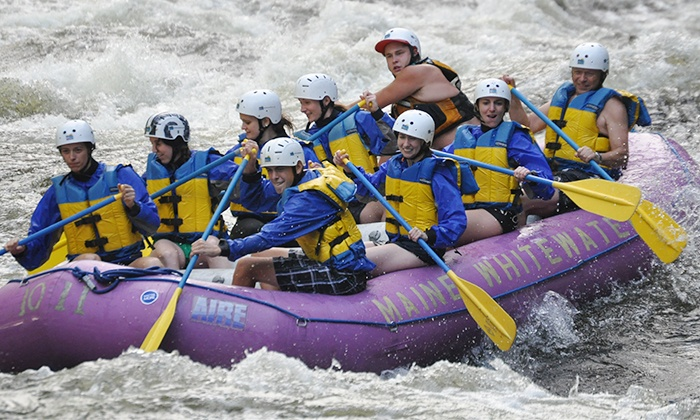 Maine Whitewater - Multiple Locations: White-Water Rafting Trip for Two or Four from Maine Whitewater (Up to 51% Off)