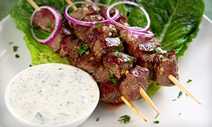 Persepolis Persian Cuisine - Downtown: Kebabs, Seafood, and Authentic Persian Food at Persepolis Persian Cuisine (Up to 53% Off). Two Options Available.