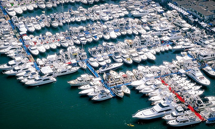Newport Boat Show - Lido Marina Village: One-Day Outing for Two or Four to Newport Boat Show (Up to 53% Off)
