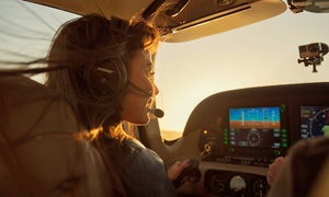Premium Lifestyle, Inc.: 60-Minute Sunset Flight or 40-Minute Night Flight for Three from Premium Lifestyles, Inc. (Up to 61% Off)
