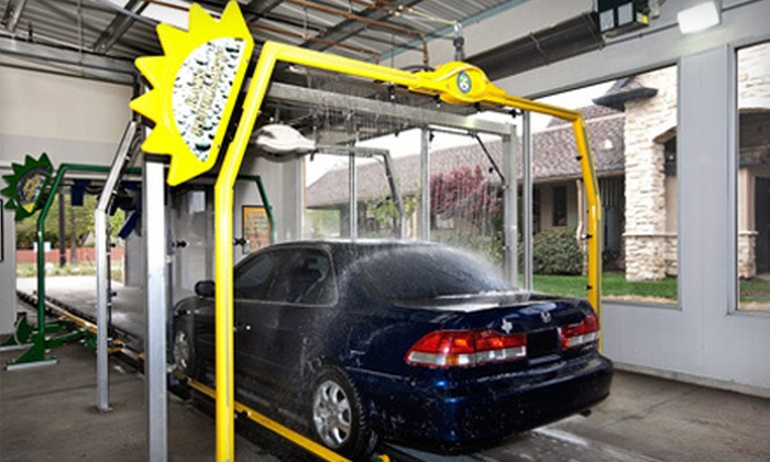 The Appleseed Express Carwash - Plano: Three Big Apple Car Washes or Month of Unlimited Car Washes at The Appleseed Express Carwash in Plano (Up to 52% Off)