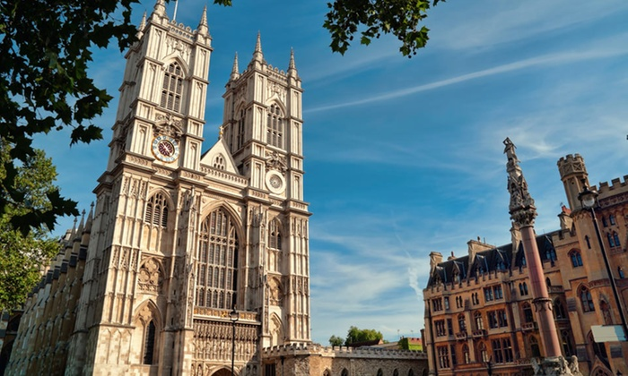 Three-City European Vacation with Airfare - London, Paris, Rome: 11-Day Vacation in London, Paris, and Rome with Airfare, Accommodations, and Train Transportation from go-today