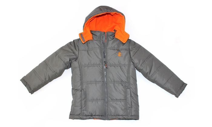 ed6c3984378a IZOD Classic Two-Tone Puffer Jacket (Size 2T)
