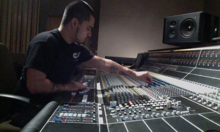 8barz Entertainment - Multiple Locations: Eight Hours of Recording-Studio Time from 8Barz Entertainment  (45% Off)