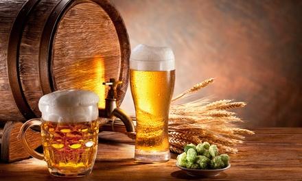 Cata ilimitada para 2, 4 o 6 personas de cerveza con visita guiada y picoteo desde 9,90 € en Cervezas antiga artesana