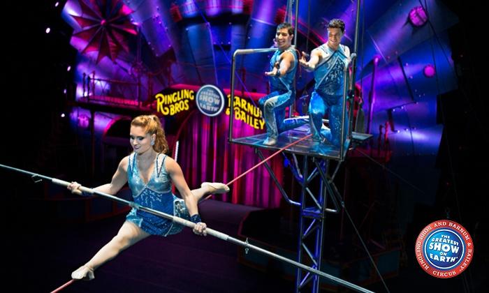 Ringling Bros. and Barnum & Bailey presents Circus XTREME - U.S. Bank Arena: <i>Ringling Bros. and Barnum & Bailey</i> Presents <i>Circus XTREME</i> on March 3–6