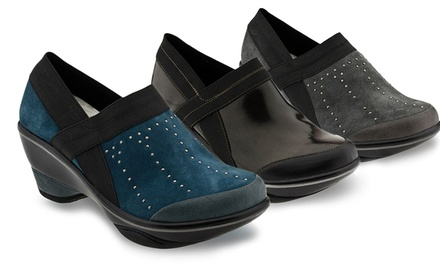 Jambu Women's Cali Boxy Comfort Wedge Shoes. Multiple Options Available. Free Returns.