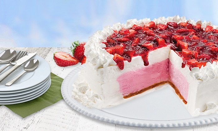 Marble Slab Creamery - Marble Slab Markham: Small Ice Cream Cake or Large Layered Ice Cream Cake from Marble Slab Creamery (Up to 32% Off)