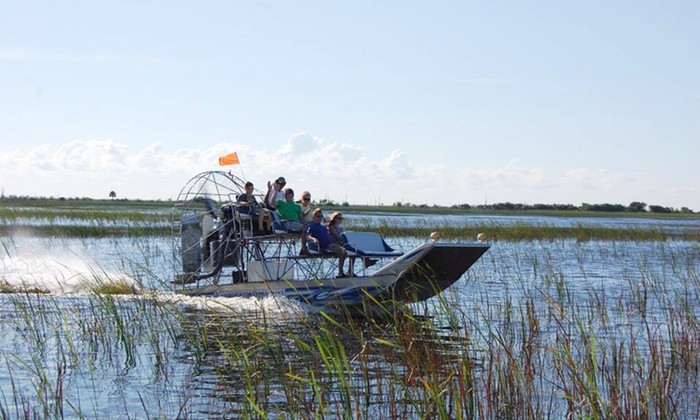 Wild Florida - Saint Cloud: Wildlife-Park Experience with Gator Feed for 1 or 2 or Gator Airboat Night Safari for 2 at Wild Florida (Up to Half Off)