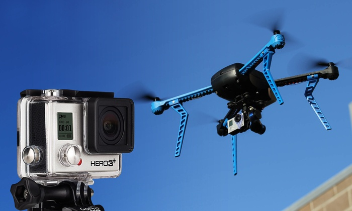 Groupon Chicago: Enter to Win a 3D Robotics Drone and GoPro Hero 3+ Camcorder